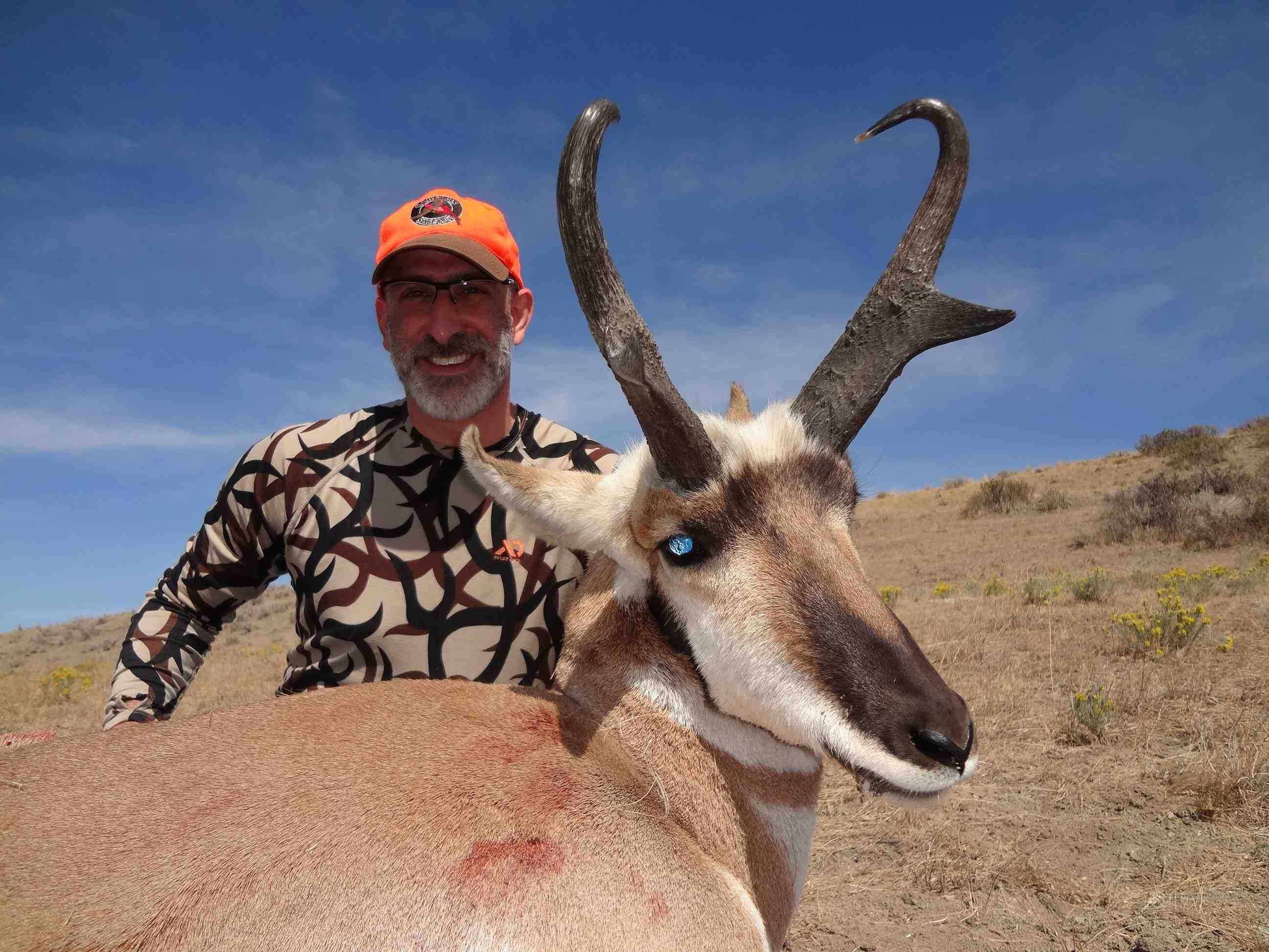 Outdoor adventures worldwide wyoming antelope for Wyoming game and fish licenses