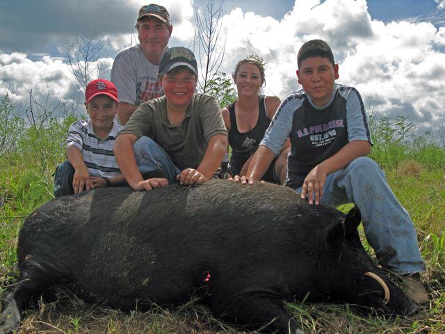 texas hog hunting license