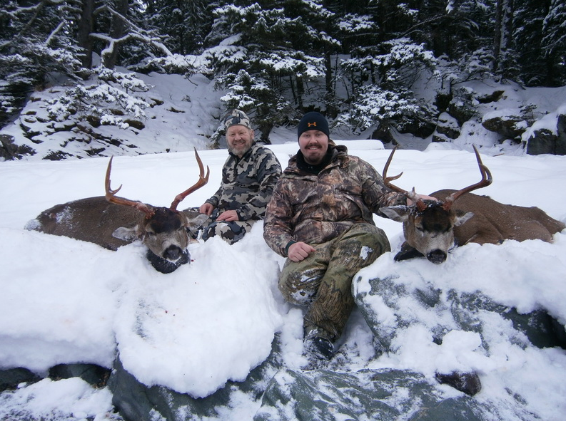 Outdoor adventures worldwide alaskan sitka blacktail deer for Nebraska fishing license cost