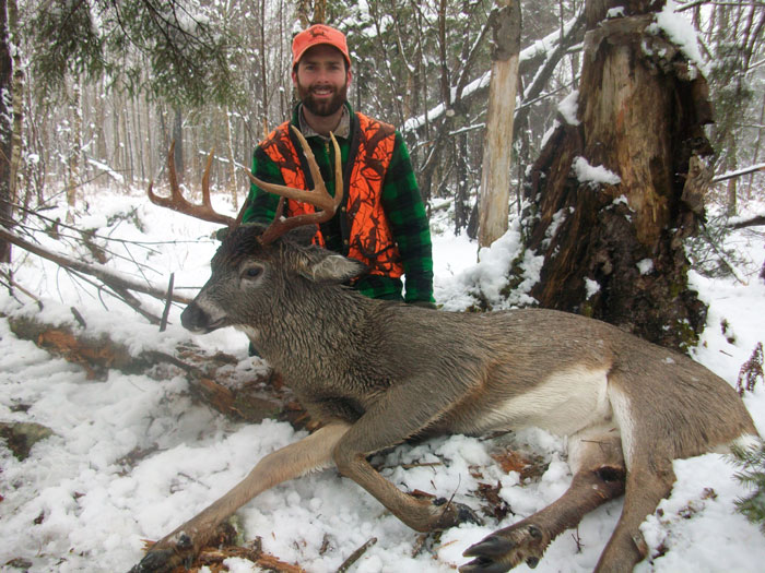 Outdoor adventures worldwide heavy maine whitetails for Maine hunting and fishing license