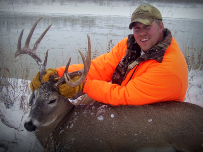 Outdoor adventures worldwide southeastern montana whitetails for Nebraska fishing license cost